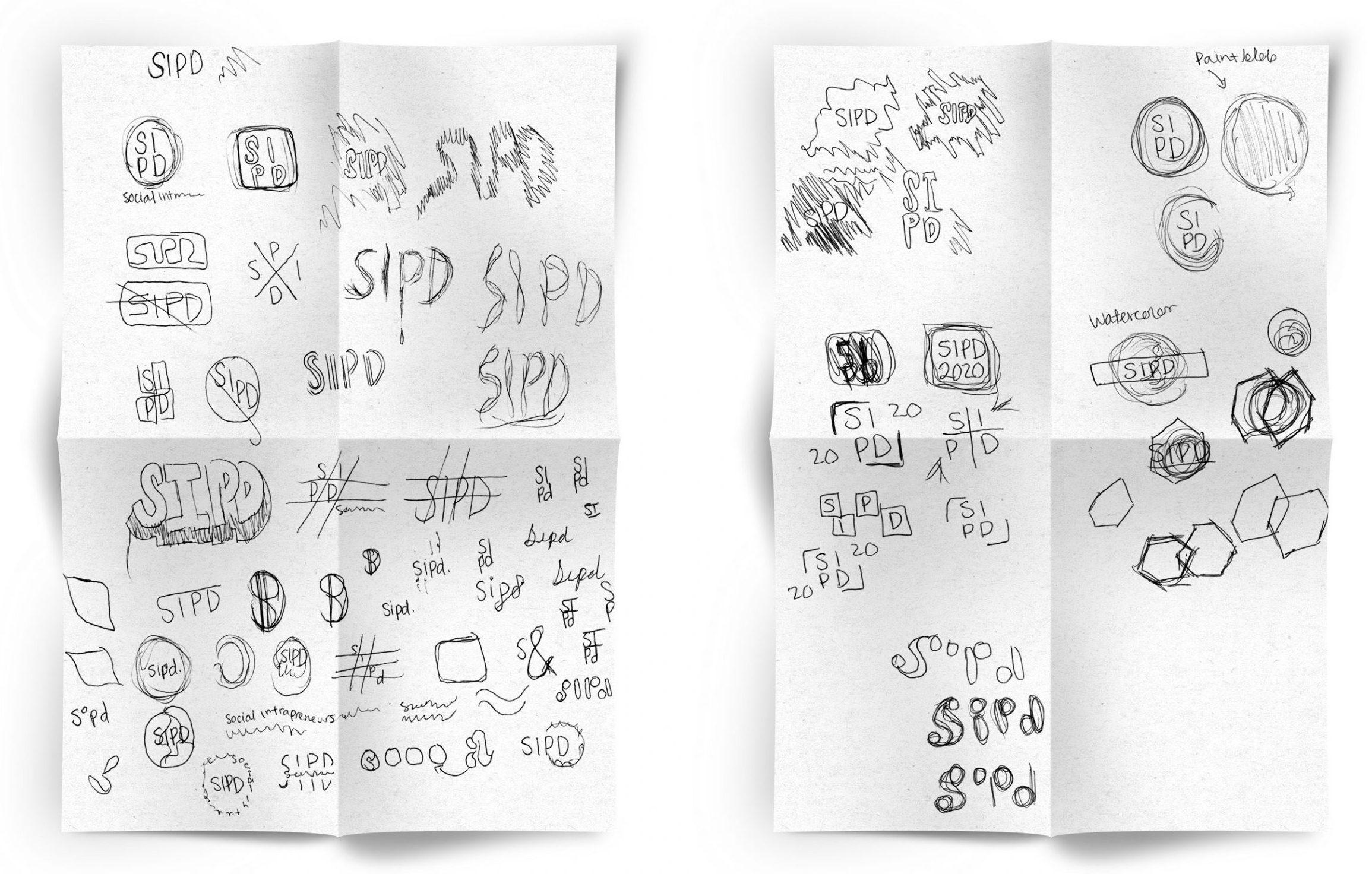 Sketches of Logo
