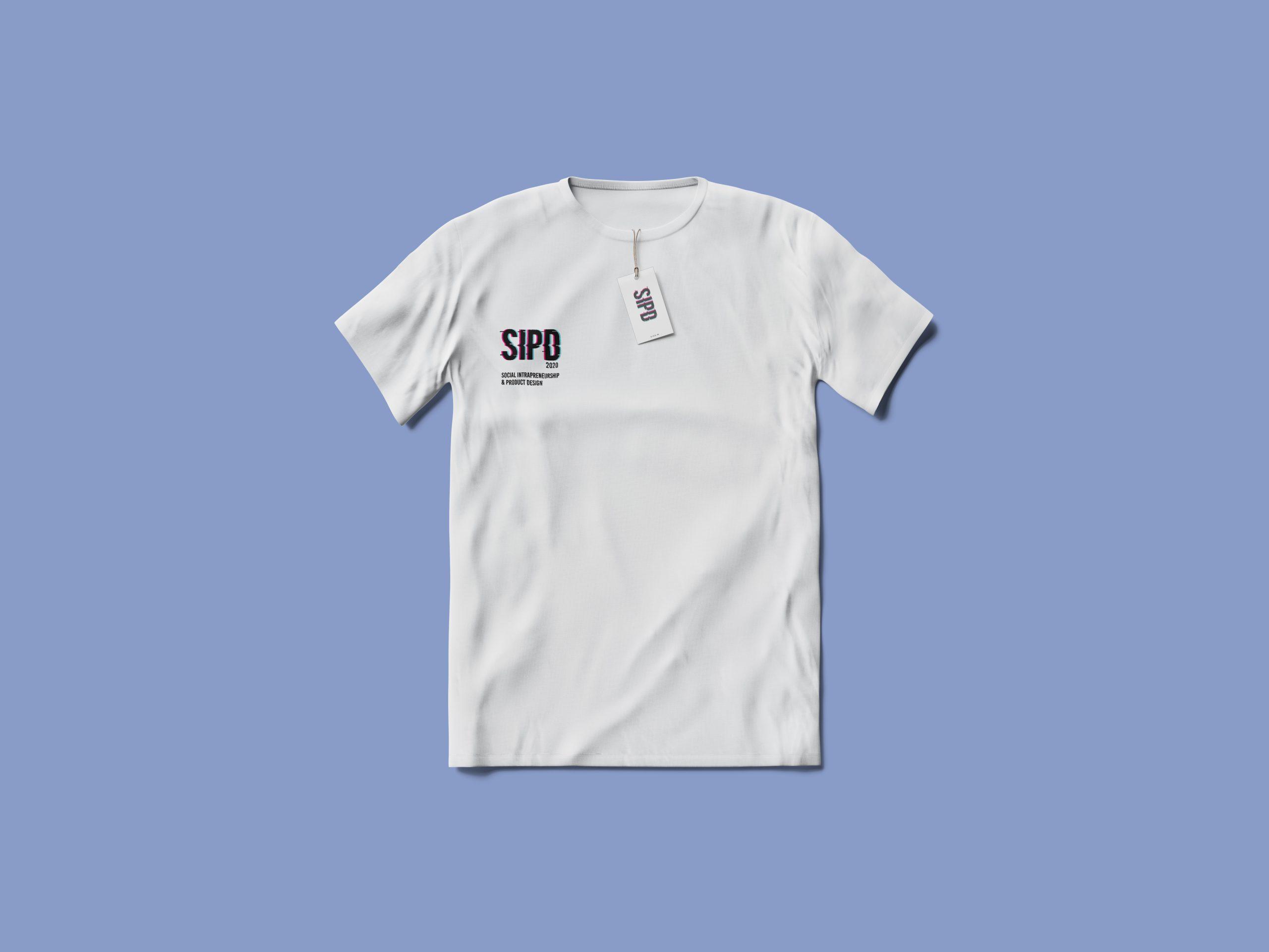 Shirt mockup with logo